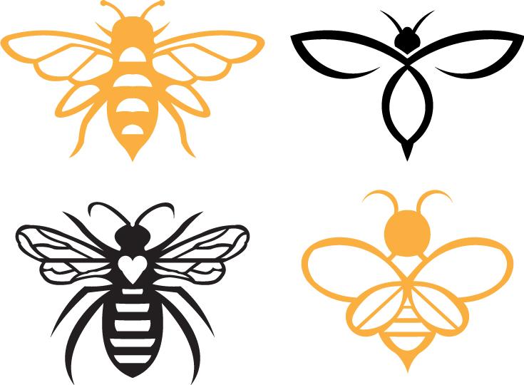 Bee Svg Free Bee Svg Download Svg Art