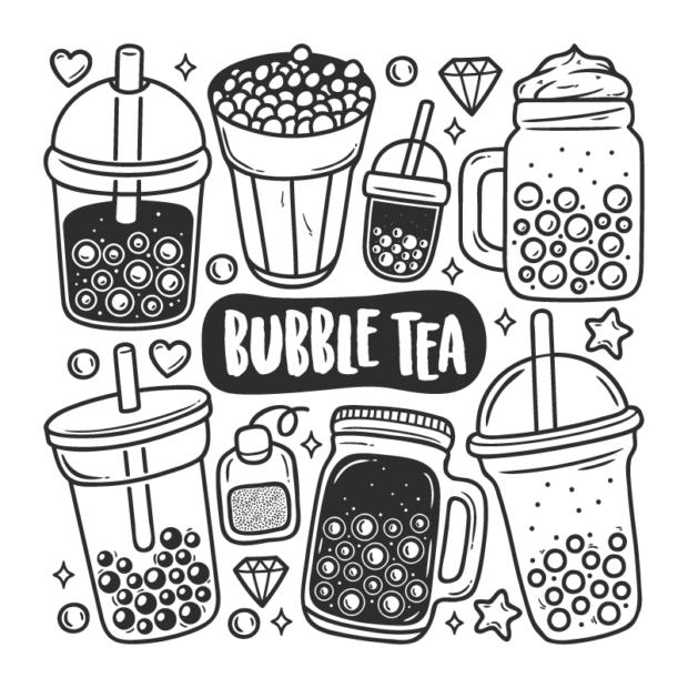 bubble tea svg