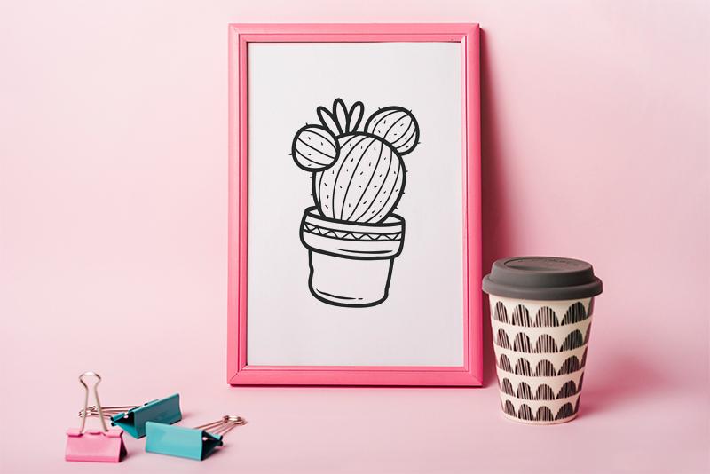 Cactus SVG Free