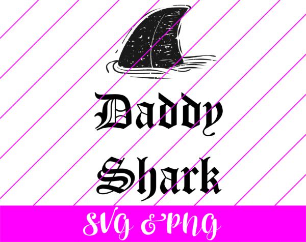 daddy shark svg