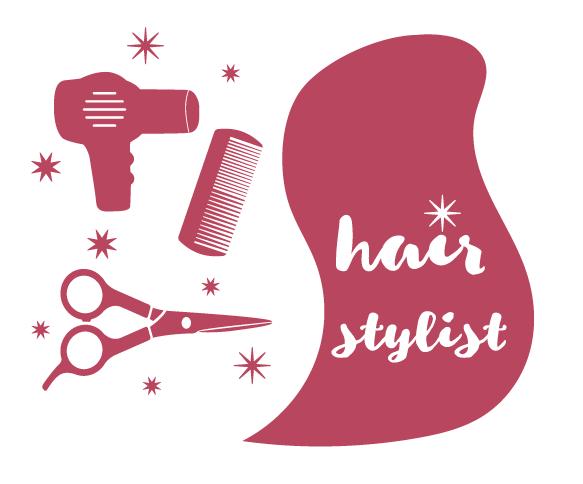 hair stylist svg