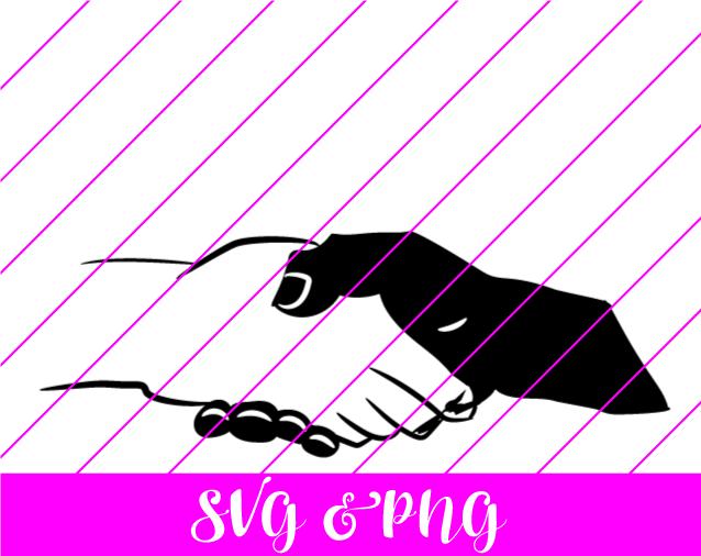 hand shake svg