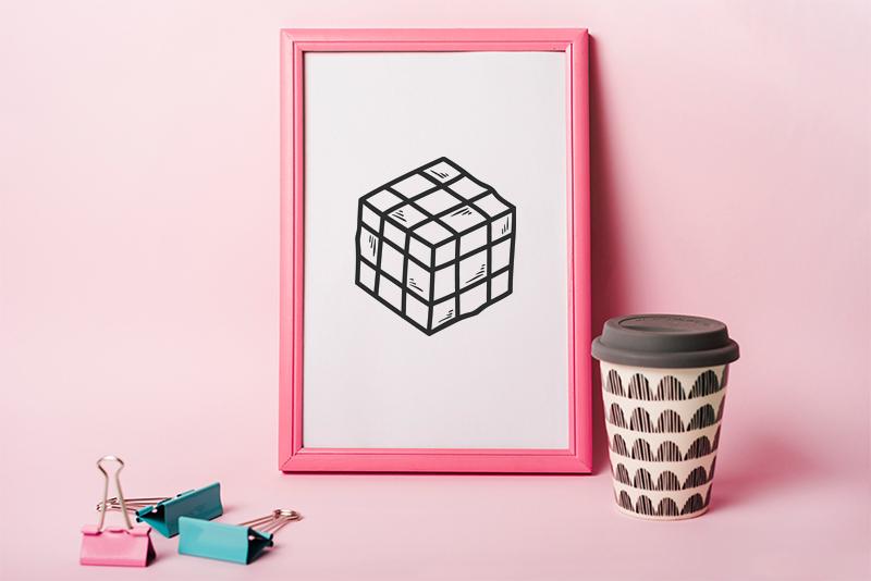 Rubix Cube svg