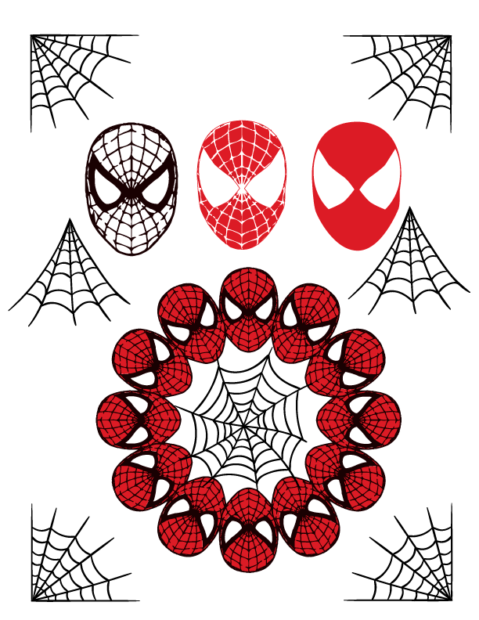 spiderman svg