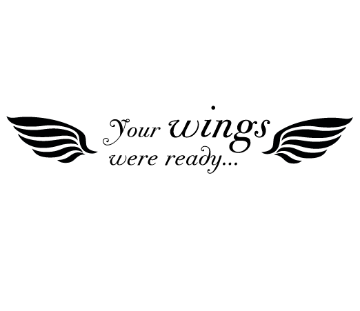 your wings were ready svg