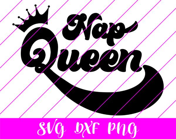 Nap Queen SVG