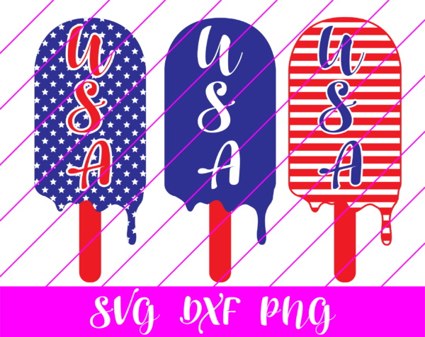 patriotic popsicle svg