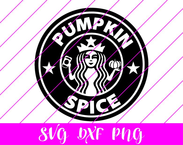 pumpkin spice starbucks logo svg