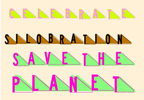 silobration font