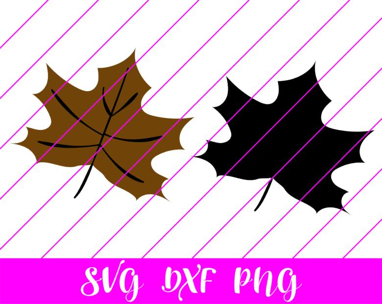 Fall leaf svg