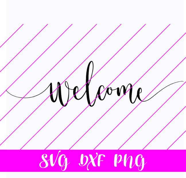 welcome svg