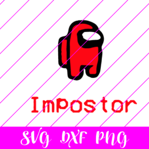Among us Impostor svg