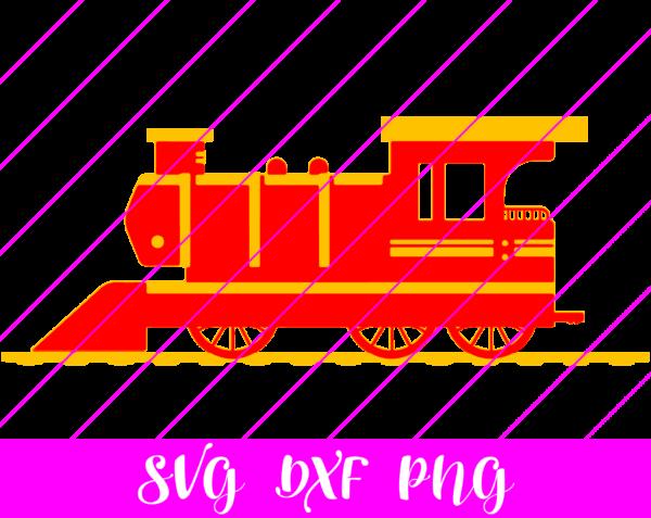 train layered svg