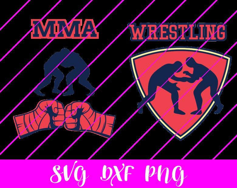 wrestling svg